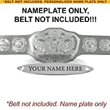 Personalized Nameplate for Adult WWE ECW 2008 Championship Replica Belt