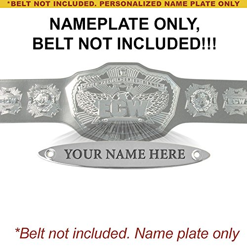 Personalized Nameplate for Adult WWE ECW 2008 Championship Replica Belt by WWE