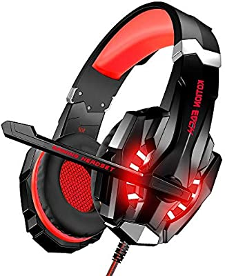 H- EarphoneAuriculares para Juegos con Cable Música Auriculares ...