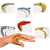 Fun Express Educational Products - Animal Hand Tattoos (2 dz) - 2 Dozen Animal Hand Tattoos.