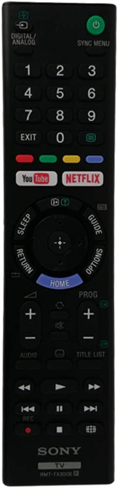 Control remoto de TV Universal Sony RMT-TX300E