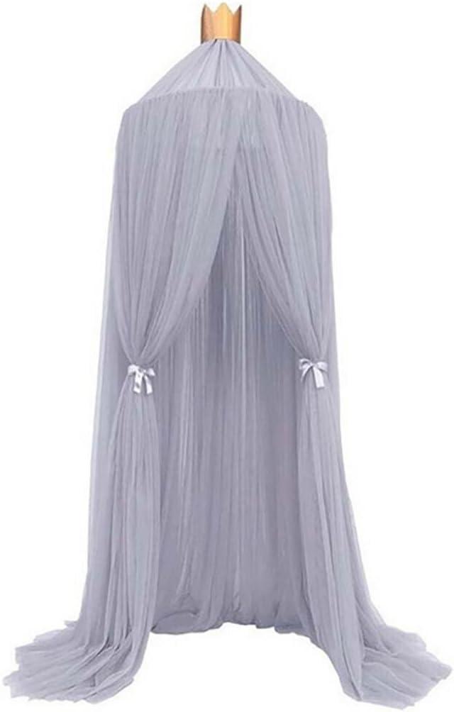beiguoxia White taglia unica Zanzariera a baldacchino per culle di neonate