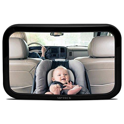 MPTECK @ Miroir de Voiture Rétroviseur de Surveillance Siège arrière moniteur de sécurité pour enfant bébé