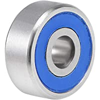 uxcell® S623-2RS Stainless Steel Ball Bearing 3x10x4mm Double Sealed 623RS Bearings 1-Pack
