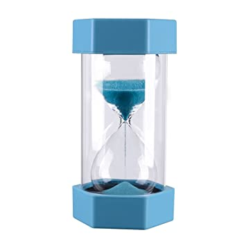 amazon co jp blue 10 minutes plastic gravity sandglass