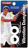 Tourna Sampras Vibration Dampener (White)