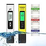 Tester PH Misuratore Ph TDS EC Temperatura 4 in 1 Misuratore PH Piscina Tester Digitale Della Qualità Dell'acqua per… 515HfalNbfL. SS150