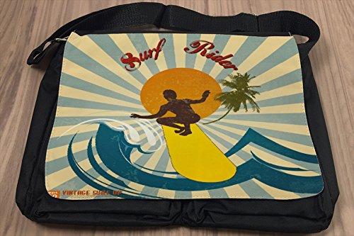 Borsa Tracolla Sport Surf Rider Stampato