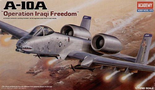 Academy 1:72 - Fairchild A-10A Operation Iraqi Freedom