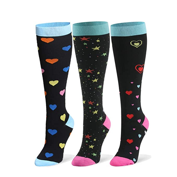 Compression Socks, Best For Running, Compression Sock for Women  Men 8 pairs