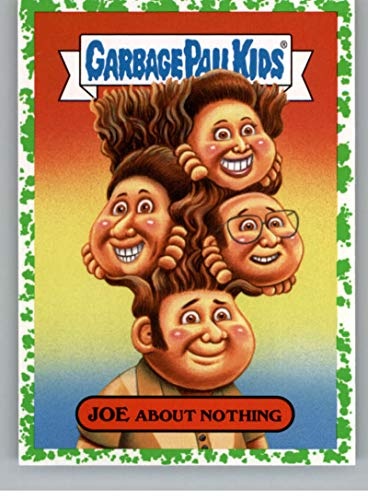 2019 Topps Garbage Pail Kids We Hate the '90s TV Sticker B-Names Puke Non-Sport #2 JOE ABOUT NOTHING Collectible Trading Card Sticker (Seinfeld) ()