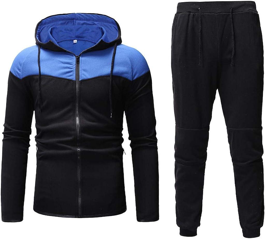 Men/'s Tracksuit Set T-Shirt Shorts Bottoms 2Pcs Sportswear Jogging Suit Trackies