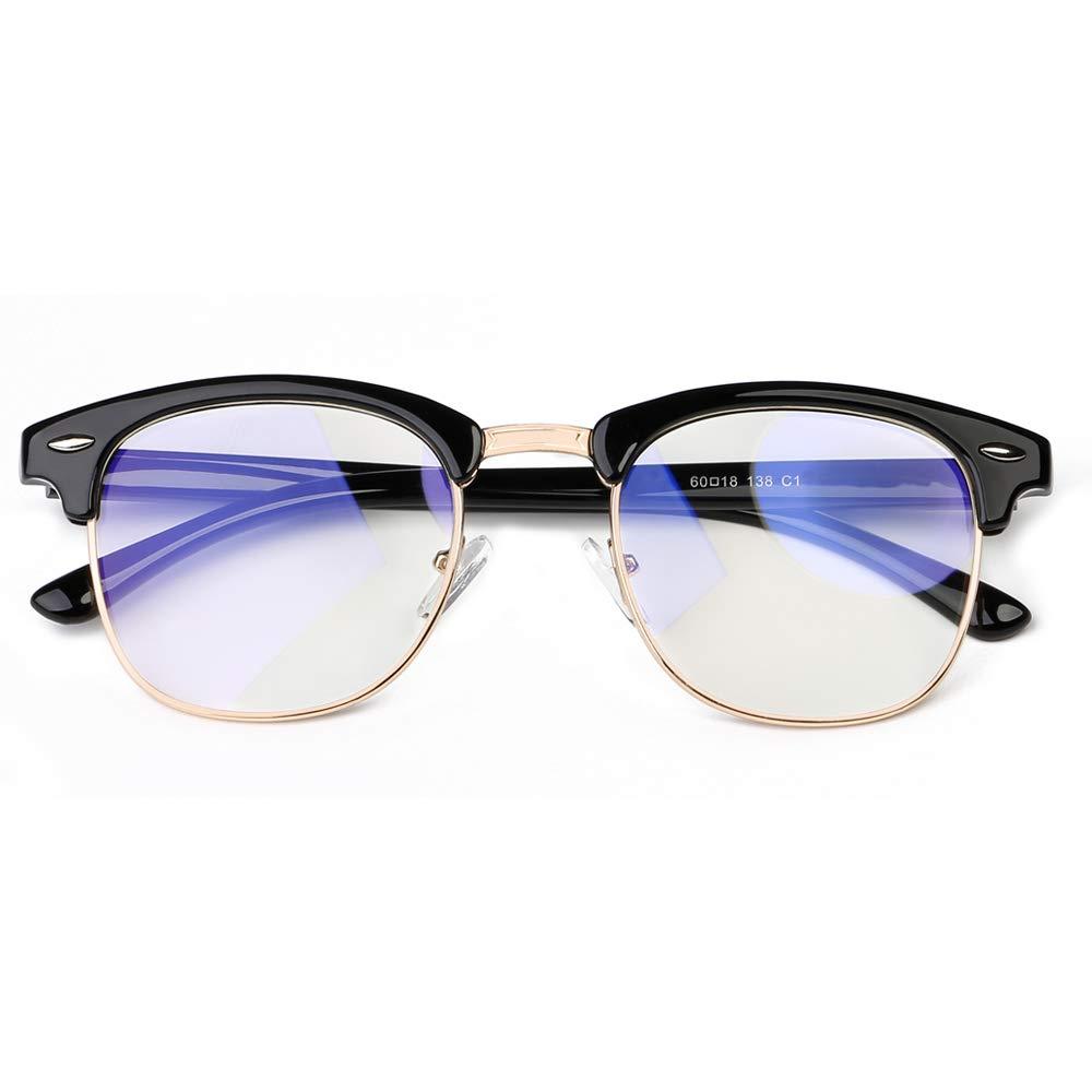 STAMEN Blue Light Blocking Glasses for Men Women, Anti Eye Strain/UV Headache Better Sleep, Computer/Gaming Blue Blocker Glasses