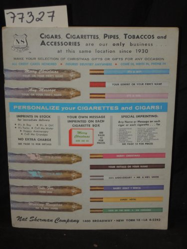 Nat Sherman Cigarettes - Cigars, Cigarettes, Pipes, Tobaccos and Accessories are our only business