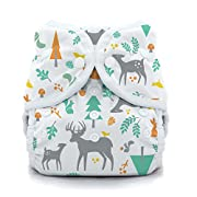 Thirsties Snap Duo Wrap, Woodland, Size Two (18-40 lbs)