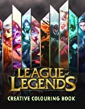 Book cover from League of Legends Creative Colouring: LOL, LoL, Creative colouring, Gamer, Esports, Riot Games, Gaming, Gaming books, League of Legends, Twitch, ... Fnatic, FNC, Team solo mid, TSM, CLG, SKT by Mr James Jackson