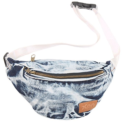 Vintage Denim Acid Wash Fanny Pack