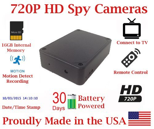 Spy Camera Battery Hidden covert