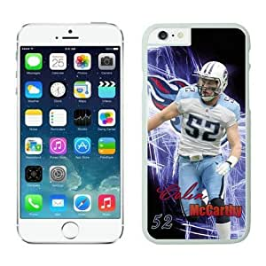 NFL iPhone 6 4.7 Inches Case Tennessee Titans Colin McCarthy White iPhone 6 Cell Phone Case HGEROVFD4338