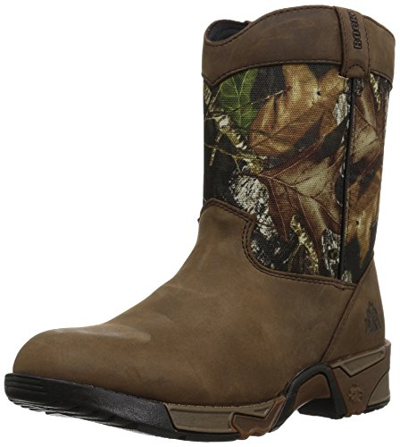 UPC 885192190858, Rocky Unisex-Kids FQ0003639 Mid Calf Boot, Mossy Oak Break up Infinity Camouflage, 11 M US Little Kid
