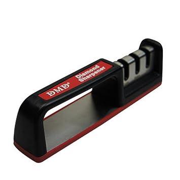 Afilador de cuchillos rojo verde o gris | cuchillo de dos ...