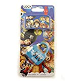 Manga Colourful 3 Digit Combination Padlock for Your School, Home, Locker, Bag, Diary - It's My Secret - Blue