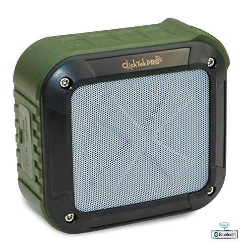 Wireless Bluetooth Speakers - Best Portable Speakers - Waterproof, Dust Proof, Shock proof - For Home, Shower,...