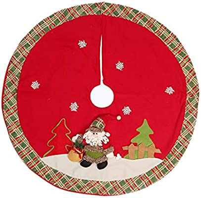 Falda para Árbol de Navidad Falda del árbol de Navidad, Delantal ...