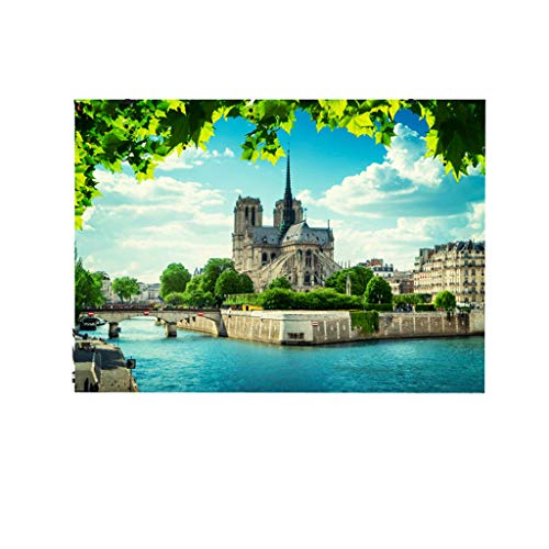 OrchidAmor Paris Cathedral Rose Window Backdrops Photography Studio Background