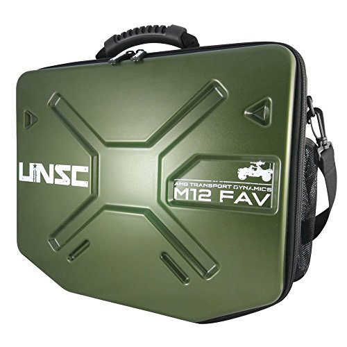 "Licensed Halo Warthog Messenger Bag Size: Approx. 13.25"" H x 16"" W x 4"" (Halo Messenger Bag)"