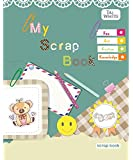 Taj-White Interleaf 36 Pages Scrap Book