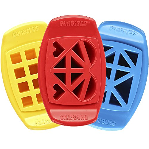 FunBites Cutter Yellow Squares Triangles product image