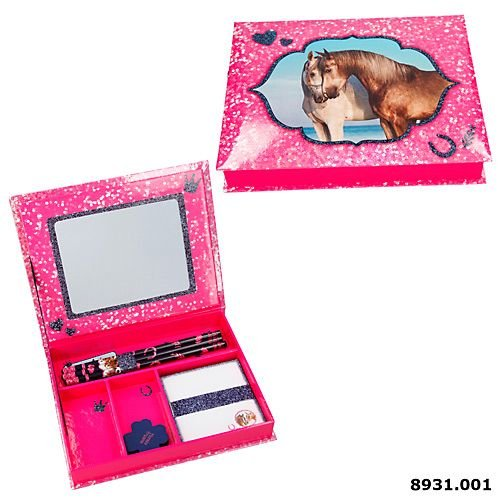 pink Horses Dreams Schreibwarenbox Motiv 2