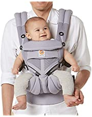 Ergobaby 360 All-Position Baby Carrier with Lumbar Support and Cool Air Mesh