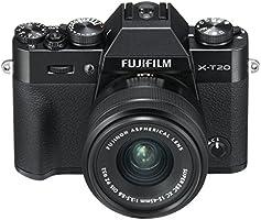 """Fujifilm X-T20 - Kit de cámara Evil de 24 MP y Pantalla de 3""""con Cuerpo y Objetivo XC 15-45 mm"""