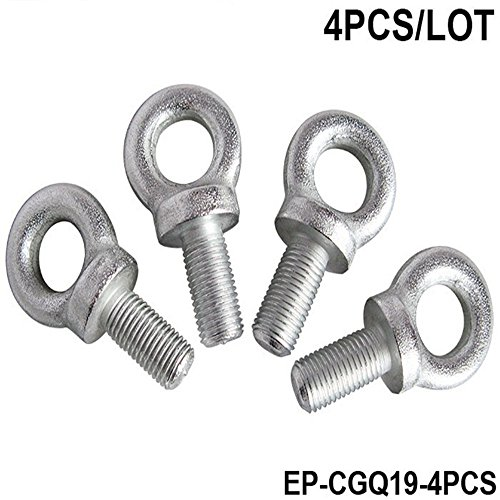 Competition Harness Eye Bolt size:7/16 Set Of 4pcs for race HARNESS RACING SEAT BELTS