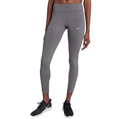 6c481ad743ad75 Nike Womens Fitness Yoga Athletic Leggings Gray L at Amazon Women's Clothing  store: