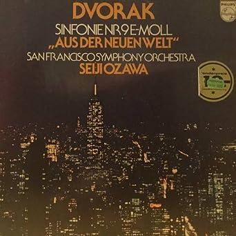San Francisco Symphony Calendar.Antonin Dvorak The San Francisco Symphony Orchestra Seiji Ozawa