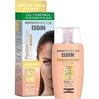 Protetor Solar Facial ISDIN Fusion Water 5 Stars c/ Cor FPS 50 - 50ml, ISDIN