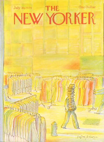 New Yorker cover Mihaesco garment district 7/30 1979