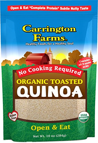 Carrington Farms Organic Toasted Quinoa, 10 Ounce (Pack of 6)