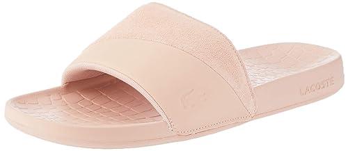 0b43505d3cc6b0 Lacoste Fraisier 118 4 U Slide Pool Beach Premium Sandals in Pink  735CAW0091 13C  UK
