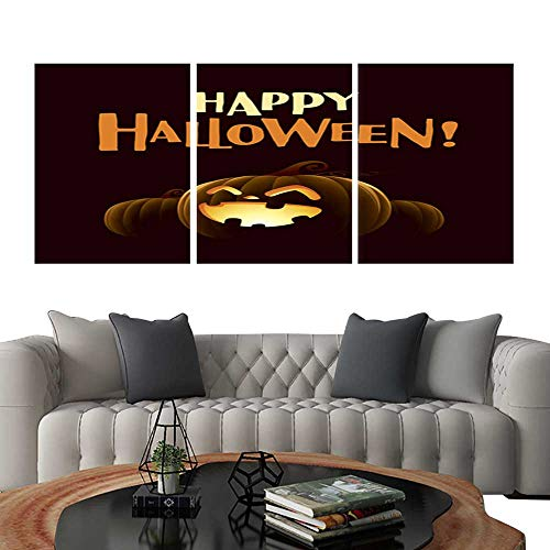 UHOO Prints Wall Art PaintingsHappy Halloween! Halloween Pumpkins Customizable Wall Stickers 16