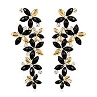 YouBella Jewellery Designer Hanging Fancy Party Wear Earrings for Girls and Women