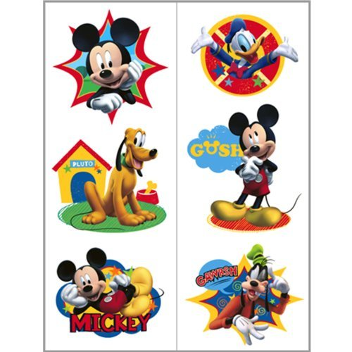 (Mickey Mouse Friends Tattoo - 2 Sheets)