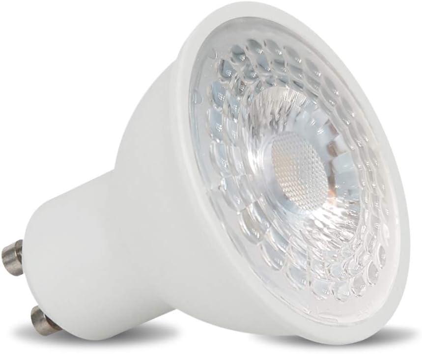 Kaltwei/ß Conceptrun LED Einbaustrahler Feuchtraum rund Aluminium Edelstahl-geb/ürstet-Optik Downlight Deckenspot GU10 230V IP44 Modell:RF5