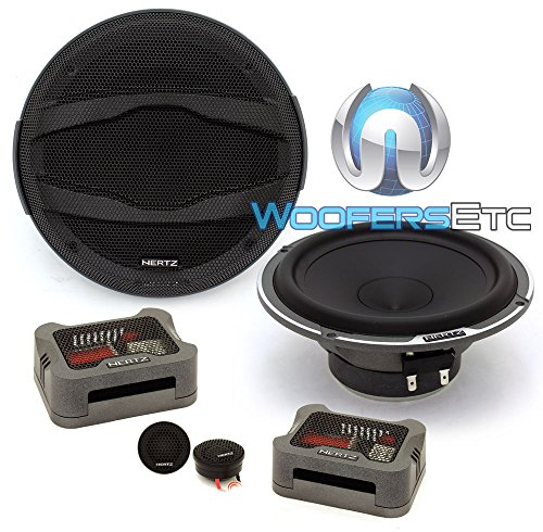"Hertz MPK 165.3 220W Max 4-Ohm 6.5"" Two Way Car Audio Speaker Component System"