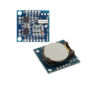 Modulo Reloj DS1307 RTC con Pila I2C para Arduino Micro Pic Bateria Tiempo Real: Amazon.es: Electrónica