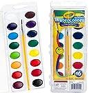 Crayola Watercolor Set: 1 set, 16 colors, Multicolor