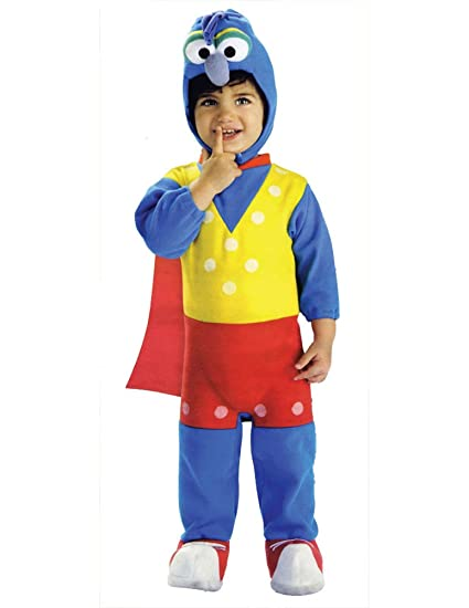 halloween costumes item ez on romper gonzo baby costume 0 6 months
